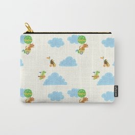 Cloud Buddies Print Carry-All Pouch