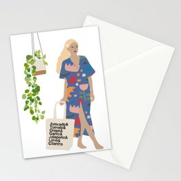 All about the guac totes Stationery Cards