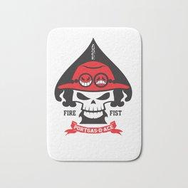 Portgas D. Ace - Fire Fist Bath Mat