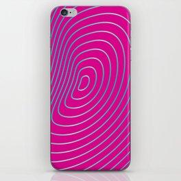 BlueonPink  iPhone Skin