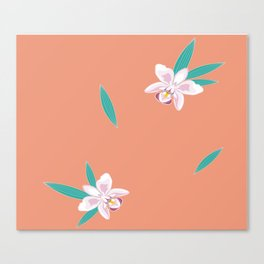 Orchids for Kinahen Canvas Print