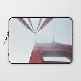 Golden Gate Bridge fogged up - San Francisco, CA Laptop Sleeve