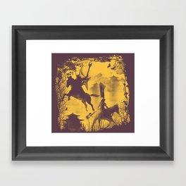 The Rock Metal Clan Framed Art Print