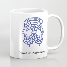 Janus in accounting Coffee Mug