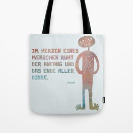 Tolstoi's Heart Tote Bag