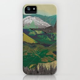 Buffalo Mountains iPhone Case