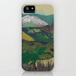 Buffalo Mountains iPhone Case
