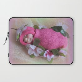 BABIES Are Such A Nice Way to Start People, Clay Baby, Quote by Don Herold Laptop Sleeve