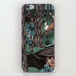 Pine Needles, Laughter iPhone Skin