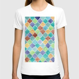 Jagged Colorful Diamonds T-shirt