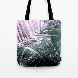 Tropical leaves 3 Tote Bag