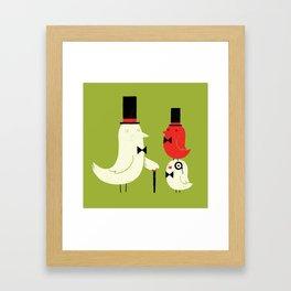 Posh Birds Framed Art Print