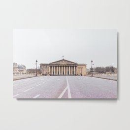 France, National Assembly, Paris Metal Print