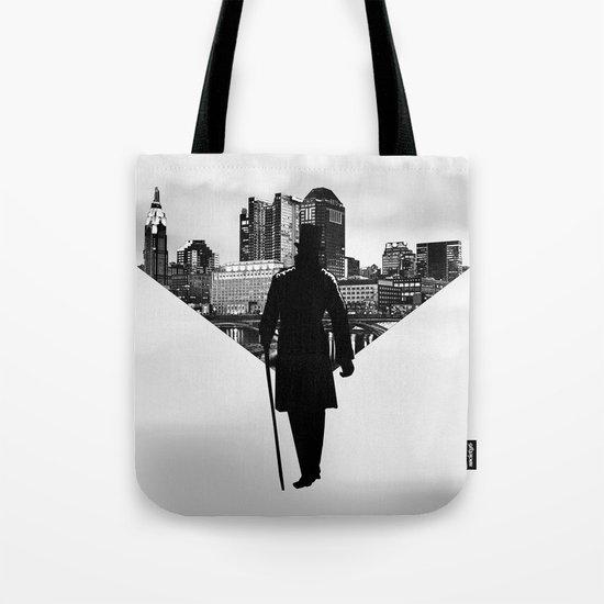 Gentleman walk Tote Bag