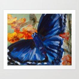 blue rapture Art Print