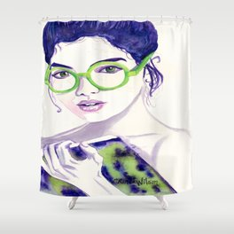 Clio; Musae of History Shower Curtain