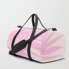 Pink Palm Leaf #decor #society6 #buyart Duffle Bag