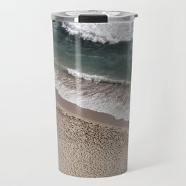 Aerial Beach Photography Travel Mug