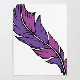Boho Feather Poster