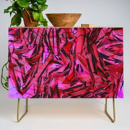 red flow Credenza