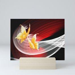 Tanz der Schmetterlinge Mini Art Print