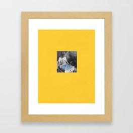 Collecting Intergalatic Framed Art Print