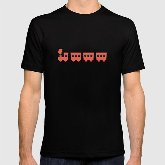 The Essential Patterns of Childhood - Train T-shirt