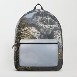 Mountains Through The Forest - Nature Photography Backpack