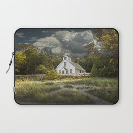 Old Mission Point Lighthouse in Early Autumn Laptop Sleeve