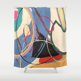 Unusually Composed Shower Curtain