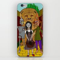 oz iPhone & iPod Skins featuring Oz by nu boniglio