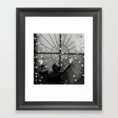 ivy. Framed Art Print