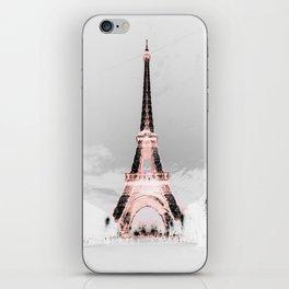 pariS Black & White + Pink iPhone Skin