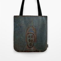 gladiator Tote Bags featuring Gladiator by Alec Bancher