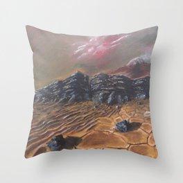 Sands of Mars Throw Pillow