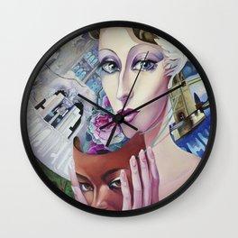 Lady Europe Wall Clock