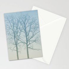 Winter Blue Stationery Cards
