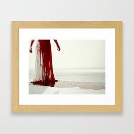 The Killing Type #6 (amanda palmer & the grand theft orchestra) Framed Art Print