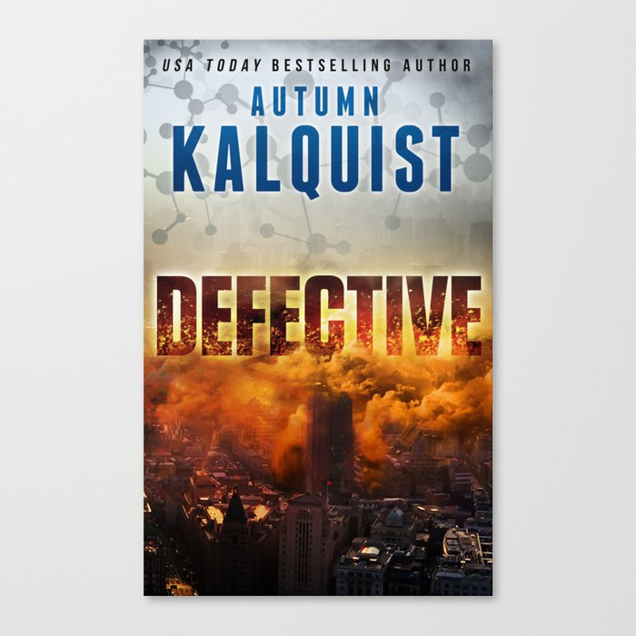 Defective Apocalypse Canvas Print