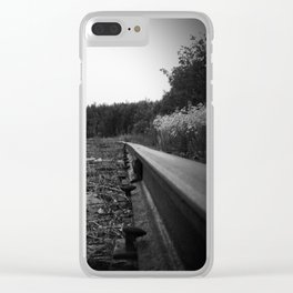 A Scene in Time of a Time Gone By Clear iPhone Case