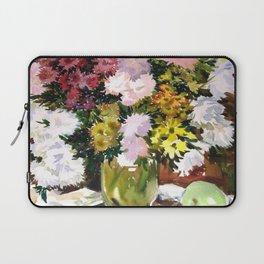 Asters. Bouquet. Flowers. Still-Life. Laptop Sleeve