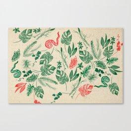 Fiore Rosso Canvas Print