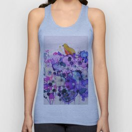 purple peace Unisex Tank Top