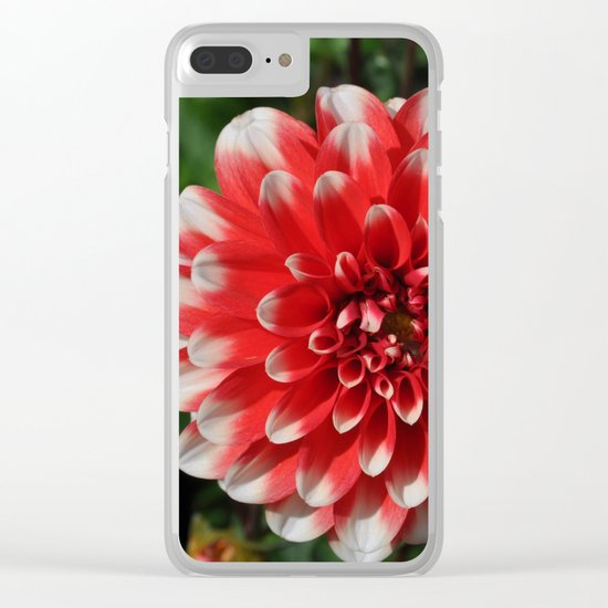 flower# Clear iPhone Case