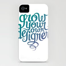 Grow Your Own Designer iPhone (4, 4s) Slim Case