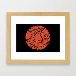 Hipster Bloodbath Framed Art Print