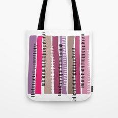 pastel colored stripes Tote Bag