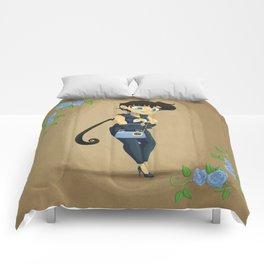 Retro Sailor Star Fighter Comforters