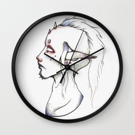 Punk ELf Wall Clock