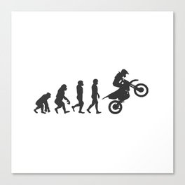Motorcycle Gift Idea racing bike biker superbike Canvas Print